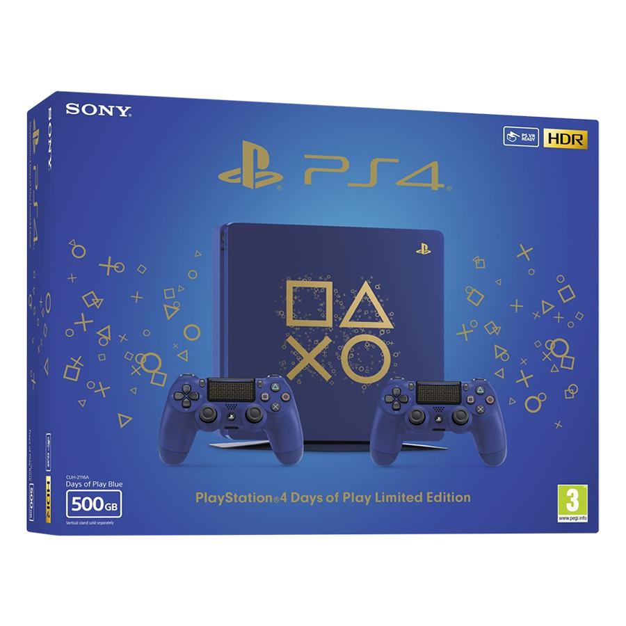 Máy Chơi Game PlayStation Sony PS4 Slim 500GB Days Of Play Limited Edition - Hàng Chính Hãng - 1075215 , 5233520638643 , 62_3718007 , 8990000 , May-Choi-Game-PlayStation-Sony-PS4-Slim-500GB-Days-Of-Play-Limited-Edition-Hang-Chinh-Hang-62_3718007 , tiki.vn , Máy Chơi Game PlayStation Sony PS4 Slim 500GB Days Of Play Limited Edition - Hàng Chính