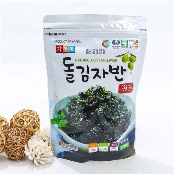 Lá Kim Vụn Có Vừng Trộn Cơm Vị Dầu Oliu ( 70g) - Nhập Khẩu Hàn Quốc