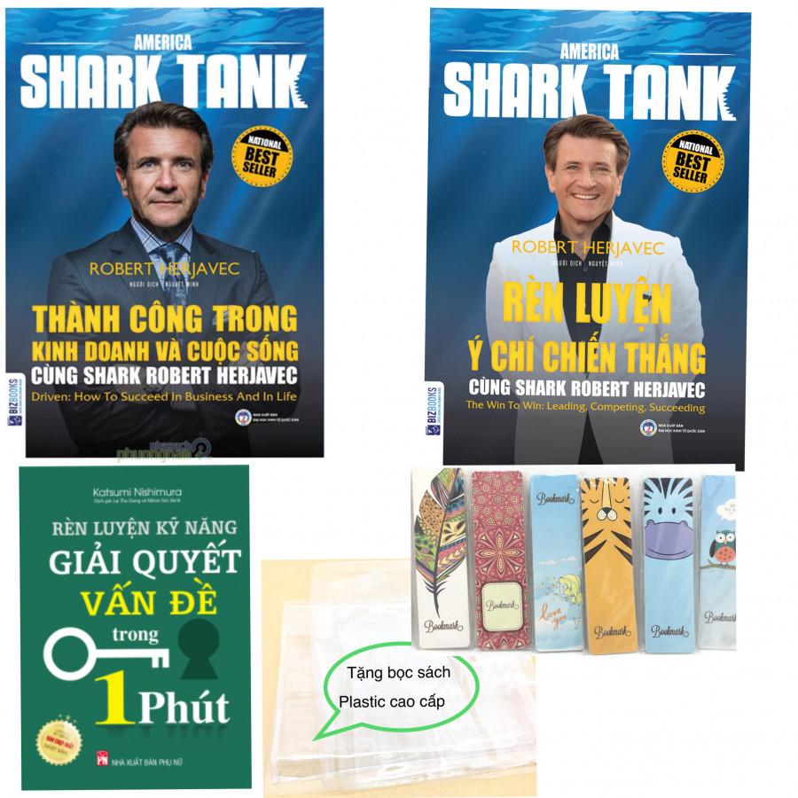 Combo Rèn Luyện Kỹ Năng Giải Quyết Vấn Đề Trong 1p, Thành Công Trong Kinh Doanh Và Cuộc Sống Cùng Shark Robert...