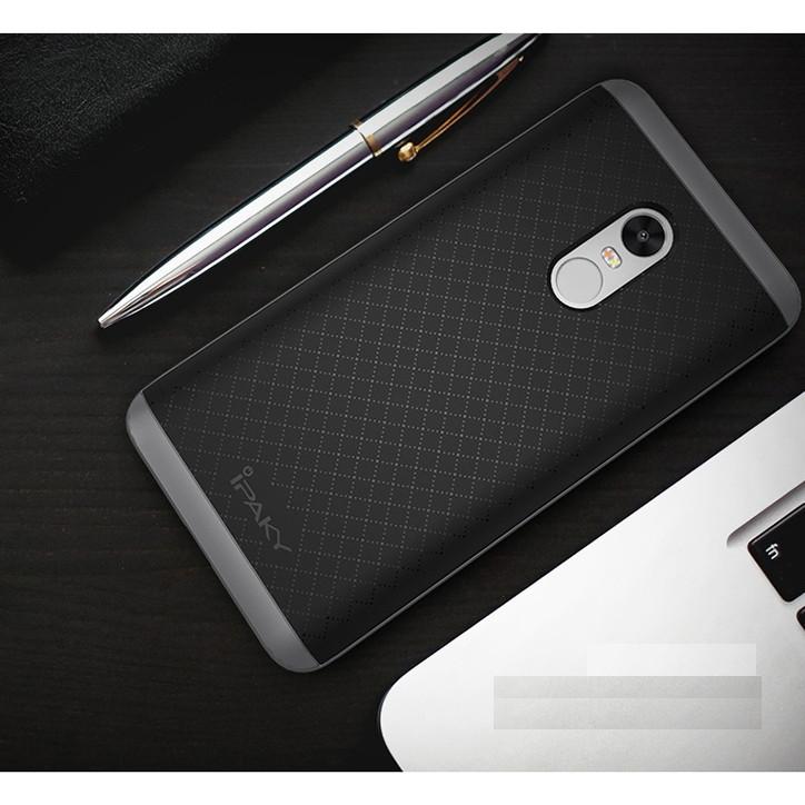 Ốp chống sốc chính hãng iPaky Neo Hybrid dành cho Xiaomi Redmi Note 4 ( màu ngẫu nhiên )