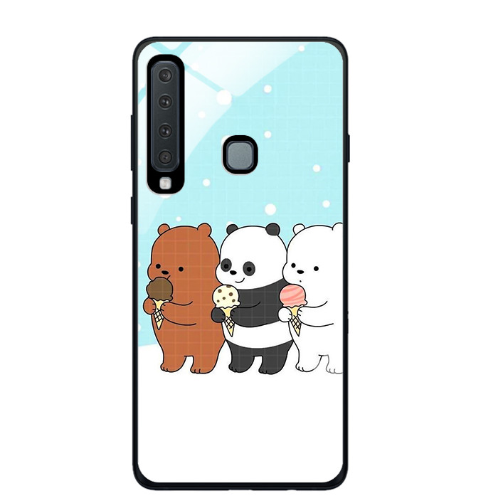 Ốp Lưng Kính Cường Lực Cho Điện Thoại Samsung Galaxy A9 2018 - 391 0094 PANDA03