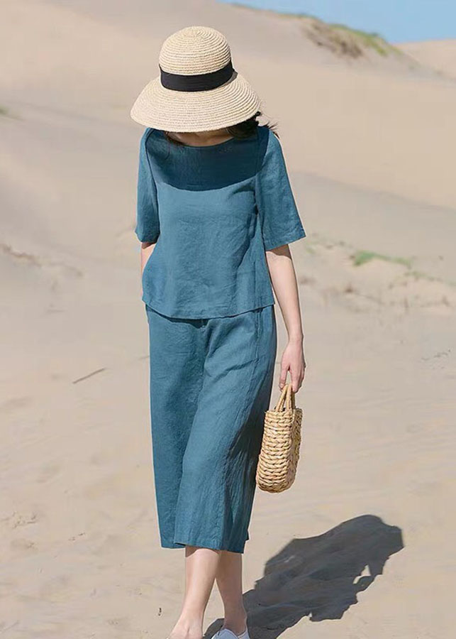 Bộ quần áo nữ thô đũi VF2019024