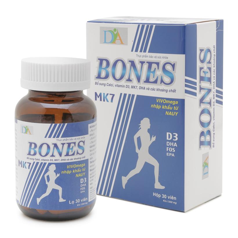 Thực phẩm chức năng bổ sung Calci, tăng cường sức khỏe xương khớp Dia Bones 30 viên