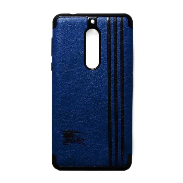 Ốp Lưng Da Kẻ Sọc Dành Cho Điện Thoại Nokia 5