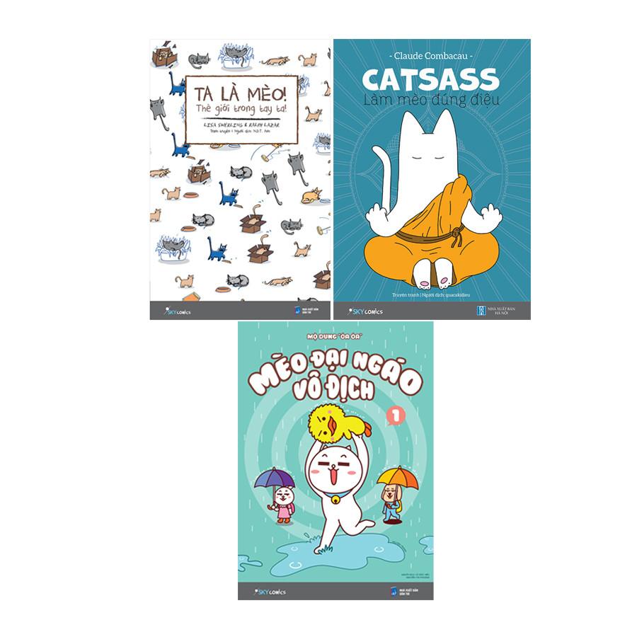 Bộ Sách Mèo (3 Cuốn) - Tặng Kèm Đồ Chơi Cho Đại Boss - 1065401 , 4469523621240 , 62_3901399 , 237000 , Bo-Sach-Meo-3-Cuon-Tang-Kem-Do-Choi-Cho-Dai-Boss-62_3901399 , tiki.vn , Bộ Sách Mèo (3 Cuốn) - Tặng Kèm Đồ Chơi Cho Đại Boss