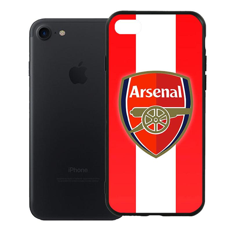 Ốp Lưng Viền TPU Cao Cấp Dành Cho iPhone 7 - Clb Arsenal 01