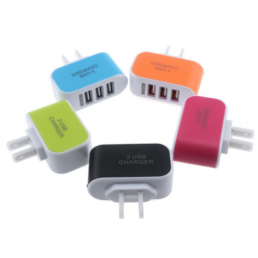 Củ Sạc 3 Cổng USB 3.1A đa năng, tiện dụng - giao màu ngẫu nhiên - 9545990 , 1281024621665 , 62_19297988 , 150000 , Cu-Sac-3-Cong-USB-3.1A-da-nang-tien-dung-giao-mau-ngau-nhien-62_19297988 , tiki.vn , Củ Sạc 3 Cổng USB 3.1A đa năng, tiện dụng - giao màu ngẫu nhiên