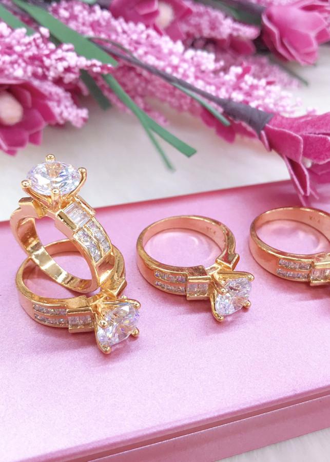 Nhẫn nữ mạ vàng 18k mã 3120 - 1841604 , 7953313949197 , 62_13866310 , 219000 , Nhan-nu-ma-vang-18k-ma-3120-62_13866310 , tiki.vn , Nhẫn nữ mạ vàng 18k mã 3120