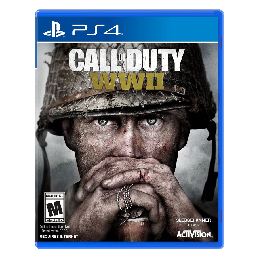 Đĩa Game PlayStation PS4 Sony Call Of Duty WWII Hệ US