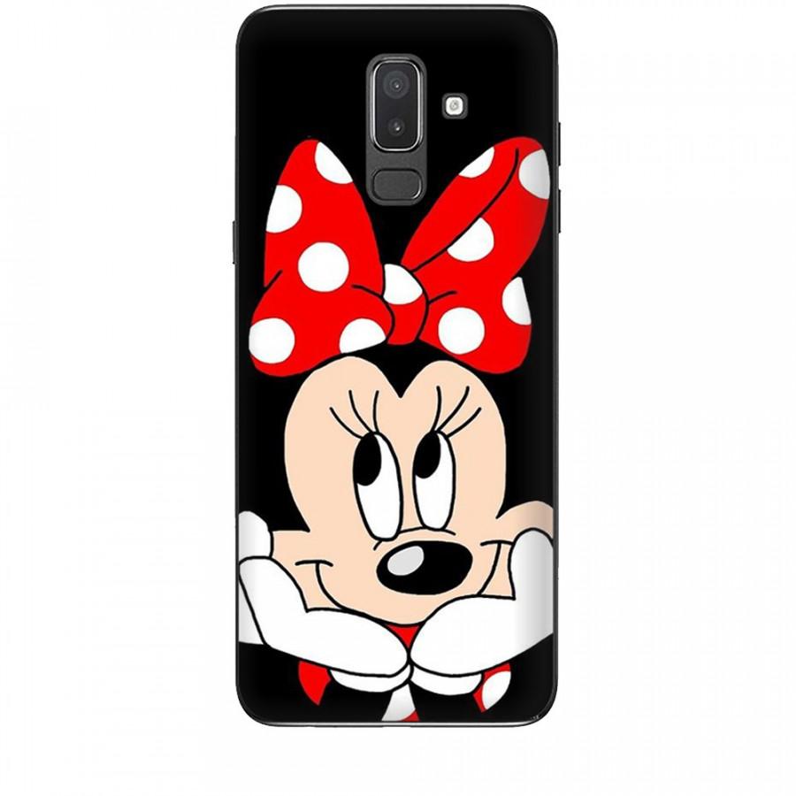 Ốp lưng dành cho điện thoại  SAMSUNG GALAXY J8 2018 Mickey Làm Duyên