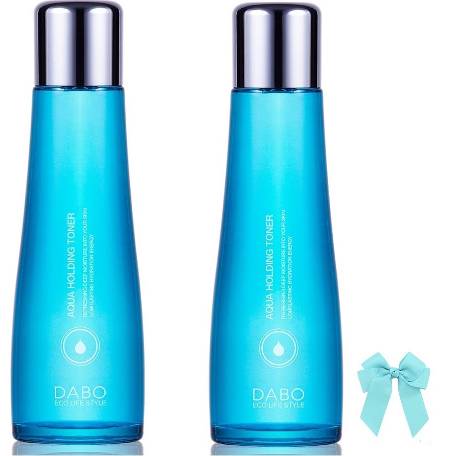 Combo 2 chai  nước hoa hồng Dabo Aqua Holding Toner dưỡng da mềm mịn trắng sáng (150ml) Hàn quốc và kẹp nơ - 9543015 , 7041027786570 , 62_16685137 , 1000000 , Combo-2-chai-nuoc-hoa-hong-Dabo-Aqua-Holding-Toner-duong-da-mem-min-trang-sang-150ml-Han-quoc-va-kep-no-62_16685137 , tiki.vn , Combo 2 chai  nước hoa hồng Dabo Aqua Holding Toner dưỡng da mềm mịn trắ