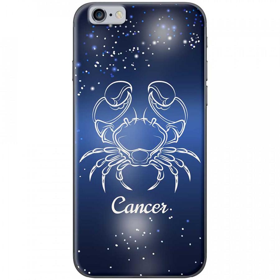 Ốp lưng  dành cho iPhone 6 Plus, iPhone 6s Plus mẫu Cung hoàng đạo Cancer (xanh)
