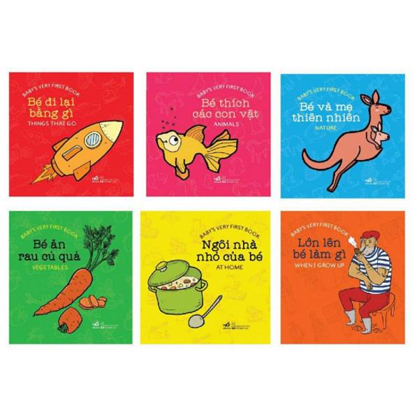 Sách Thư viện song ngữ đầu tiên cho bé (0 - 3 tuổi)