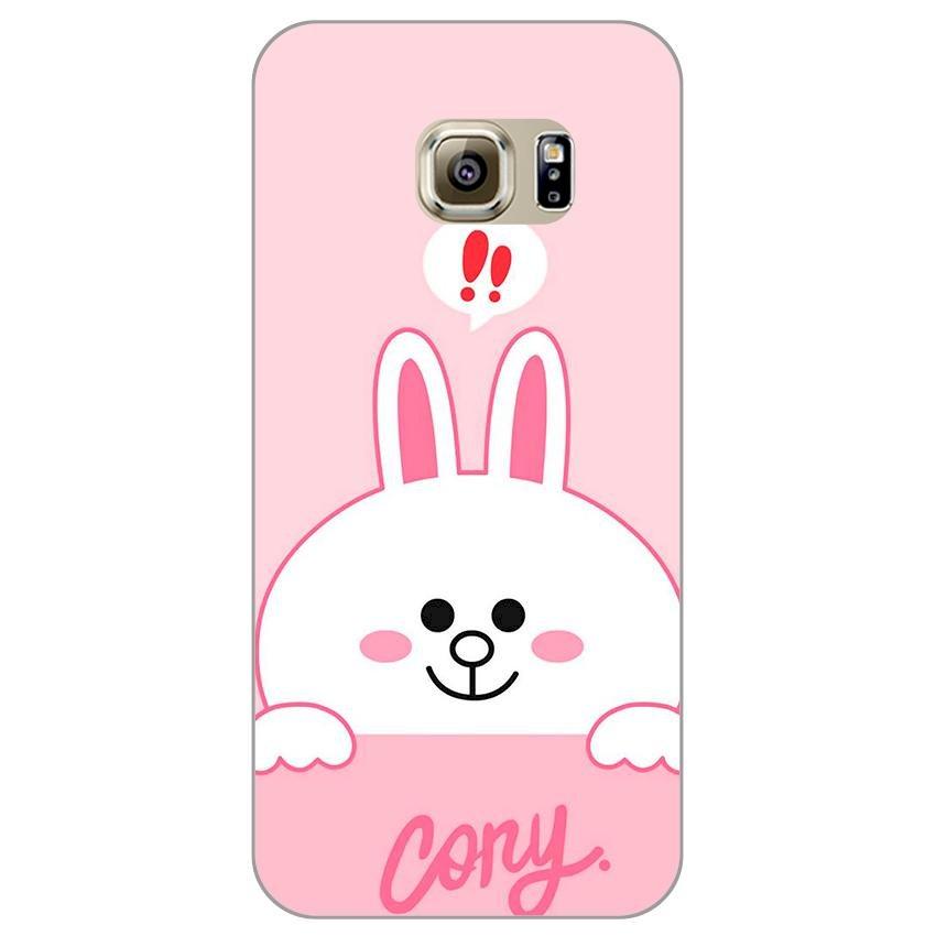 Ốp lưng dẻo cho Samsung Galaxy S7 Edge _Thỏ Cony