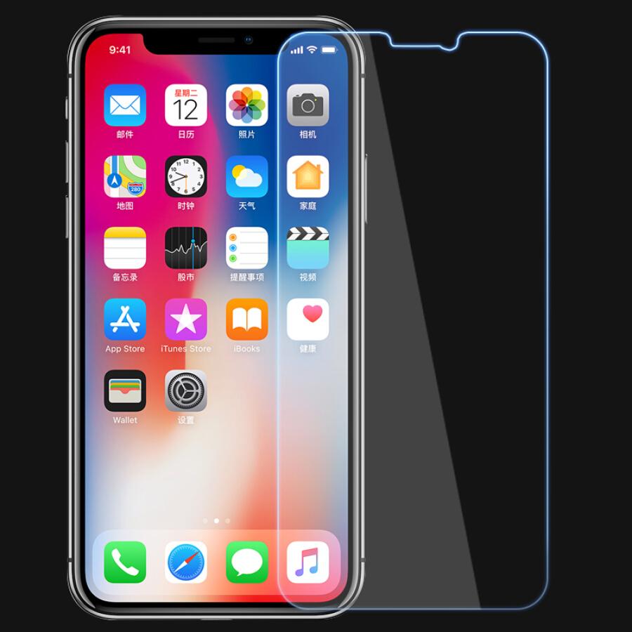 Kính Cường Lực Dành Cho iPhone X/10 MOFi (2 Cái)