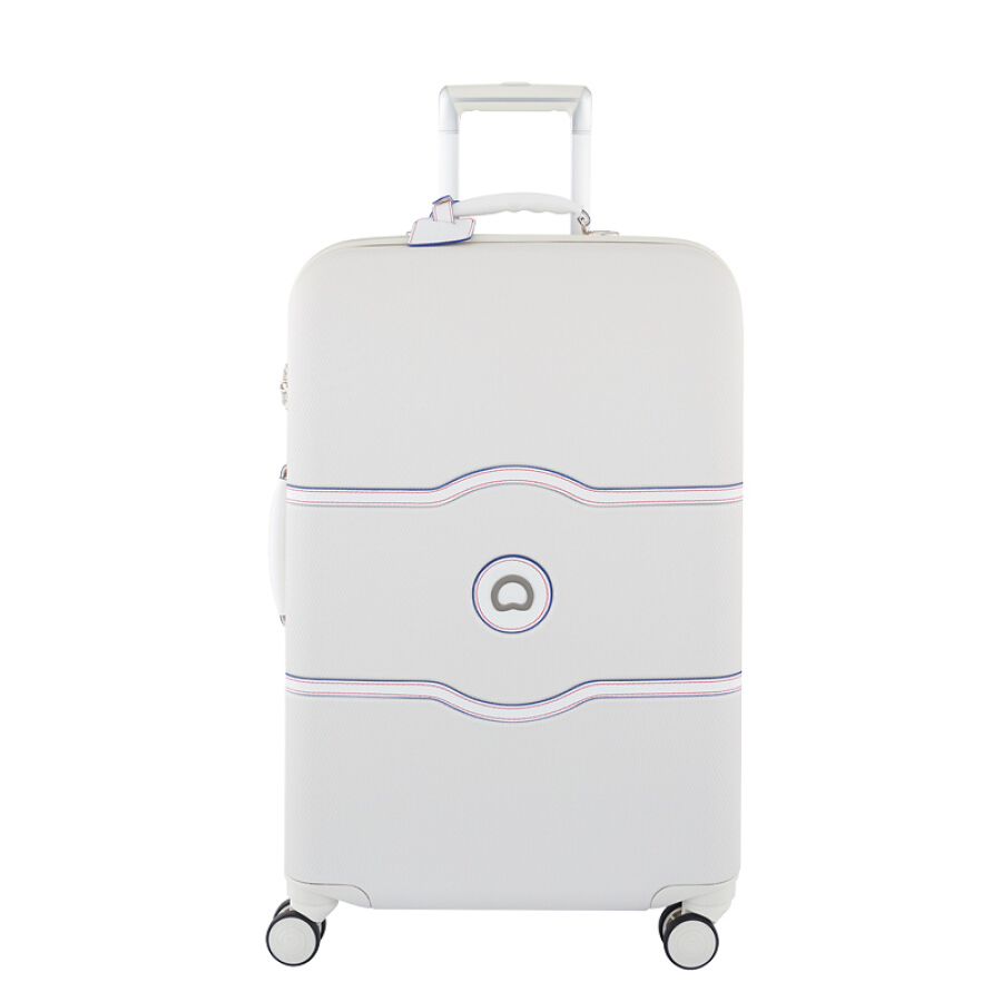 French Ambassador (Delsey) trolley case 24 inch PC  leather suitcase explosion-proof zipper boarding luggage female brake caster pearl white... - 1908768 , 7079068007484 , 62_10256663 , 11379000 , French-Ambassador-Delsey-trolley-case-24-inch-PC-leather-suitcase-explosion-proof-zipper-boarding-luggage-female-brake-caster-pearl-white...-62_10256663 , tiki.vn , French Ambassador (Delsey) trolley