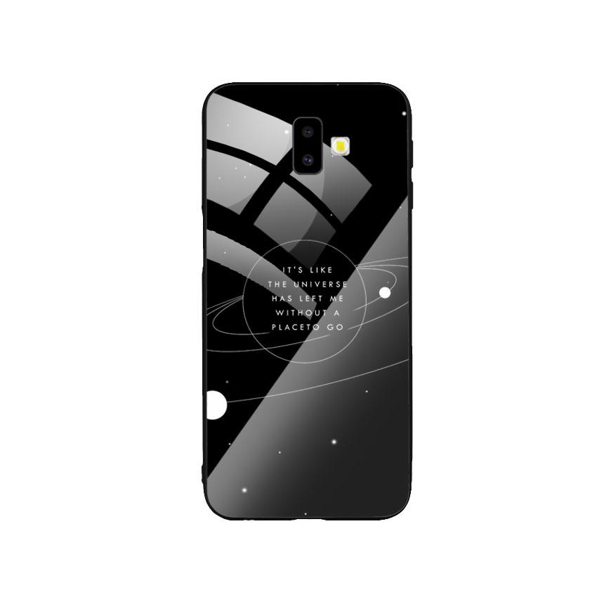Ốp Lưng Kính Cường Lực cho điện thoại Samsung Galaxy J6 Plus - Alone 02