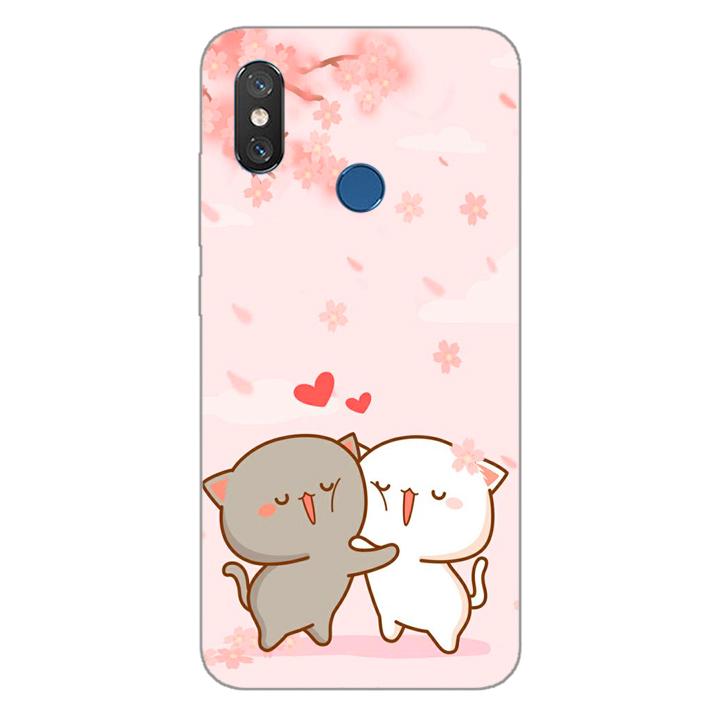 Ốp lưng dẻo cho điện thoại Xiaomi Mi 8_0509 LOVELY05 - Hàng Chính Hãng