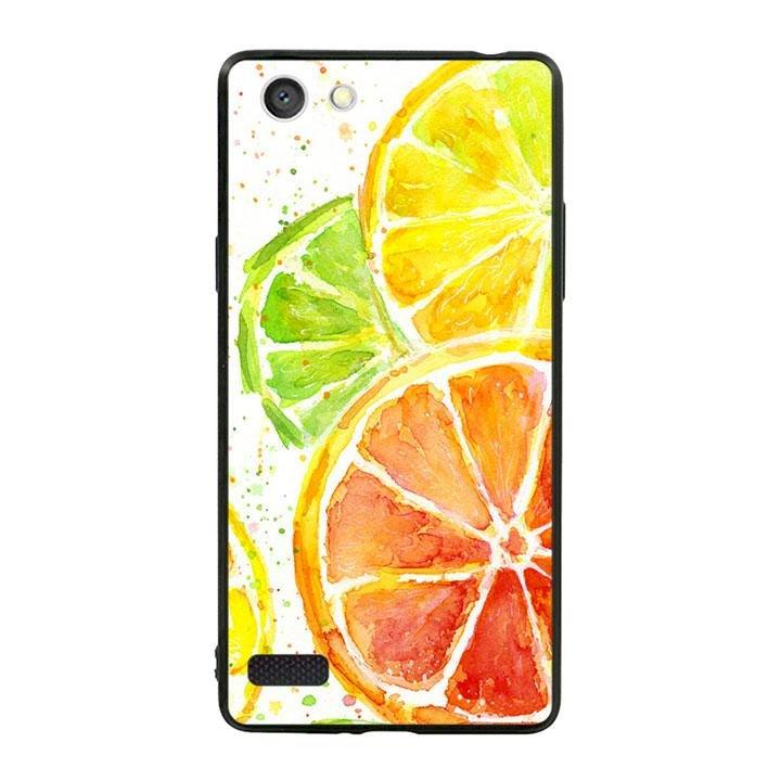 Ốp lưng viền TPU cho dành cho Oppo Neo 7 - Oranges