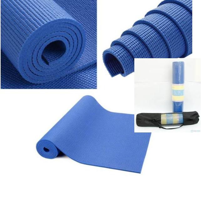 Thảm tập yoga cao su non chống trơn trượt 4mm kèm túi lưới đựng thảm - 1280417 , 6450755375122 , 62_12119050 , 200000 , Tham-tap-yoga-cao-su-non-chong-tron-truot-4mm-kem-tui-luoi-dung-tham-62_12119050 , tiki.vn , Thảm tập yoga cao su non chống trơn trượt 4mm kèm túi lưới đựng thảm