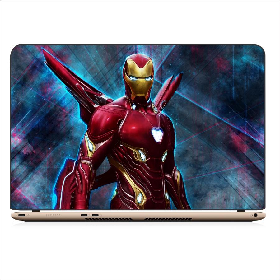 Skin decal in trang trí cho laptop - hình Iron man ( mẫu 1 )