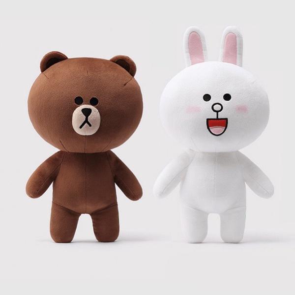 Gấu Bông Cặp Thỏ Cony Và Gấu Brown (40 Cm) Gb12 - 2012877 , 2486018557497 , 62_14852648 , 339000 , Gau-Bong-Cap-Tho-Cony-Va-Gau-Brown-40-Cm-Gb12-62_14852648 , tiki.vn , Gấu Bông Cặp Thỏ Cony Và Gấu Brown (40 Cm) Gb12