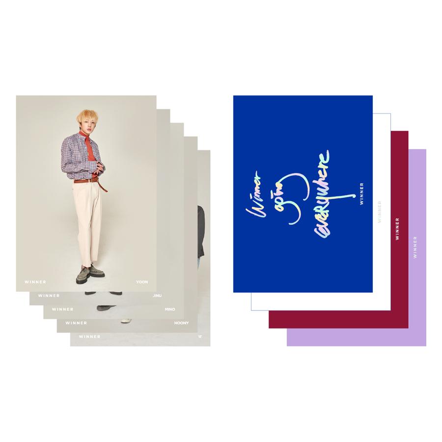 [Everywhere] Winner File Folder + Photo - Hàng chính hãng