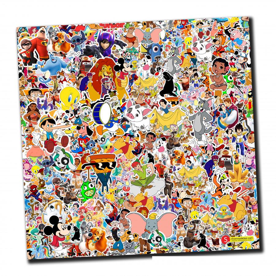 Sticker bomber hình dán nguyên tấm 50x50cm chủ đề - Cartoon - 807460 , 7634511572690 , 62_14499138 , 150000 , Sticker-bomber-hinh-dan-nguyen-tam-50x50cm-chu-de-Cartoon-62_14499138 , tiki.vn , Sticker bomber hình dán nguyên tấm 50x50cm chủ đề - Cartoon