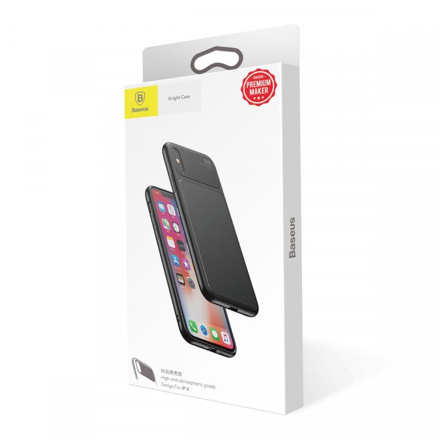 Ốp lưng Baseus Knight cho iPhone X - Hàng chính hãng