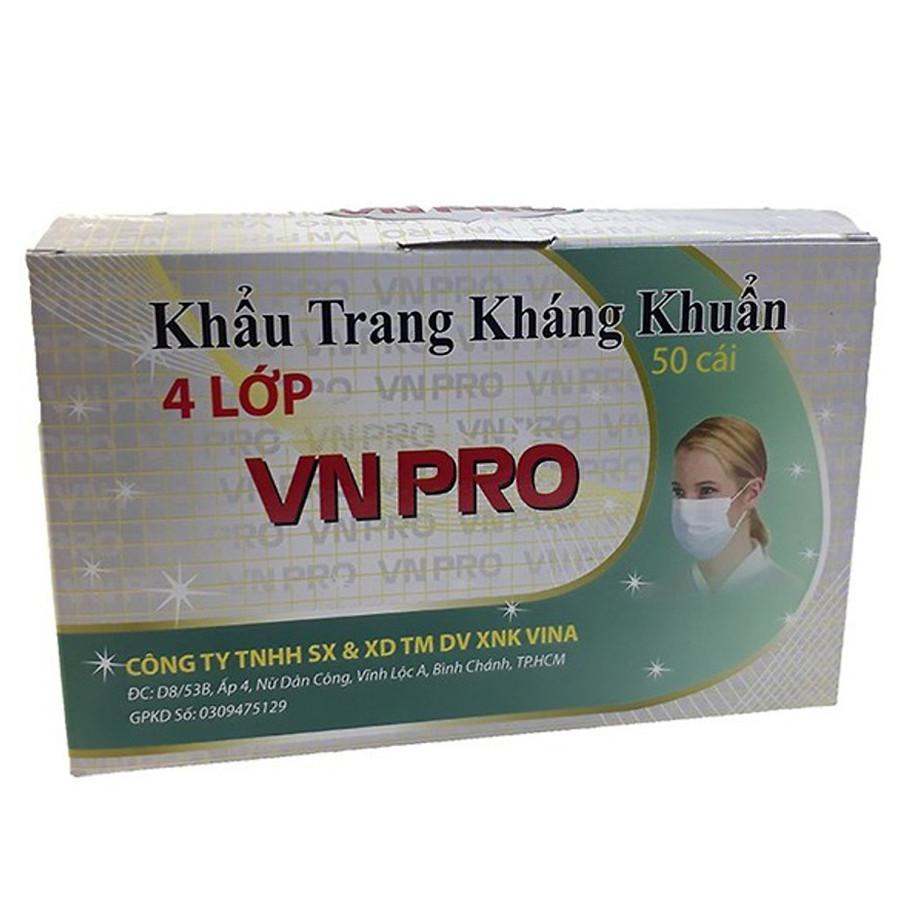 Bộ 3 hộp Khẩu trang y tế 4 lớp vải lọc VN Pro màu xanh (Hộp 50 cái) - 1312463 , 1782177927623 , 62_6435991 , 120000 , Bo-3-hop-Khau-trang-y-te-4-lop-vai-loc-VN-Pro-mau-xanh-Hop-50-cai-62_6435991 , tiki.vn , Bộ 3 hộp Khẩu trang y tế 4 lớp vải lọc VN Pro màu xanh (Hộp 50 cái)