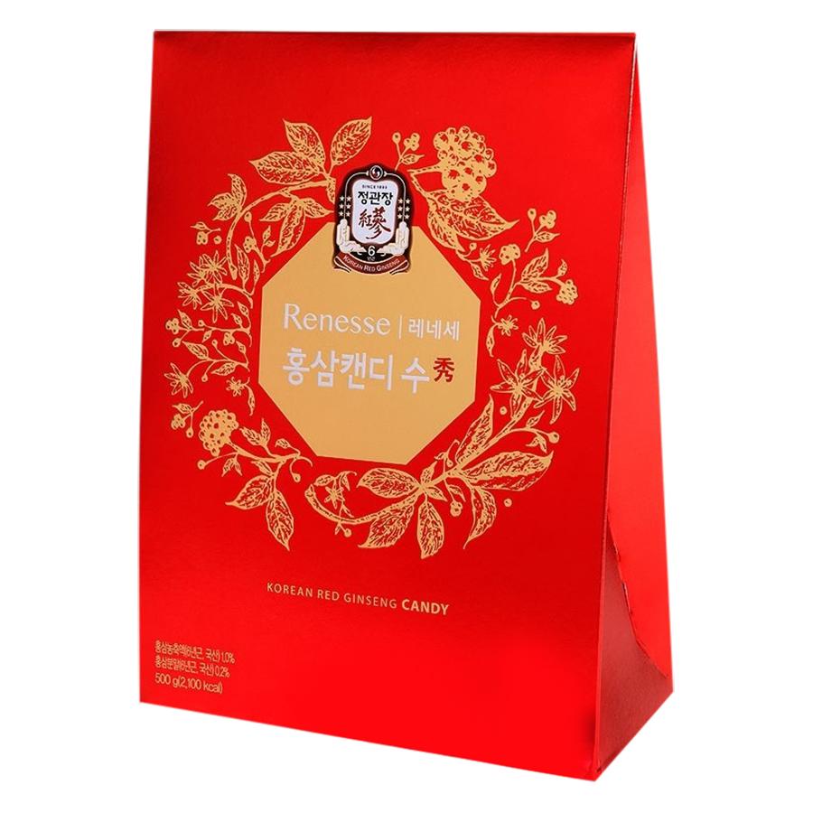 Kẹo Hồng Sâm KGC Cheong Kwan Jang KRG Candy (500g) - 1035162 , 8504181595741 , 62_11079663 , 506000 , Keo-Hong-Sam-KGC-Cheong-Kwan-Jang-KRG-Candy-500g-62_11079663 , tiki.vn , Kẹo Hồng Sâm KGC Cheong Kwan Jang KRG Candy (500g)