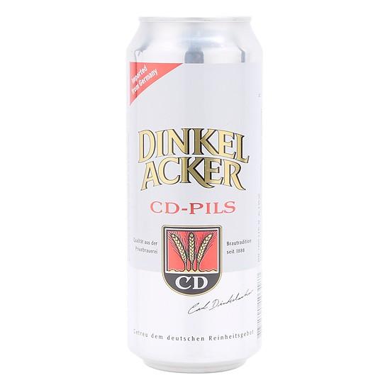Lon bia Dinkelacker CD Pils 4.9% (500ml)