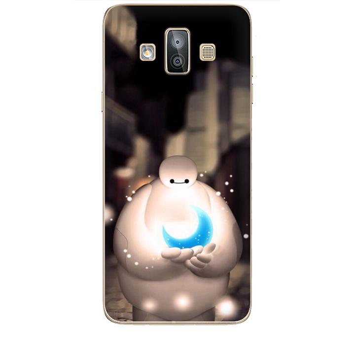 Ốp lưng dành cho điện thoại  SAMSUNG GALAXY J7 DOU hình Big Hero Mẫu 05