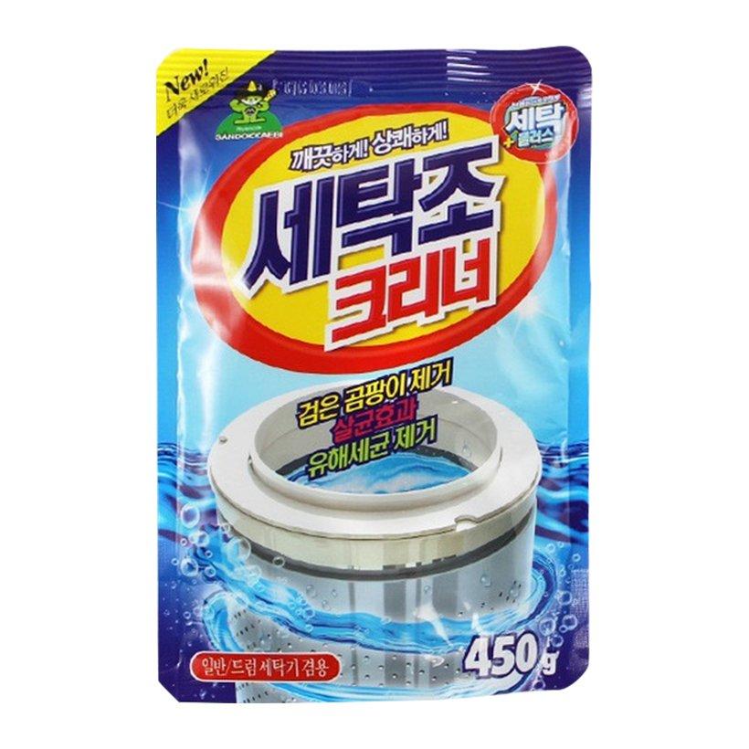 Gói bột tẩy vệ sinh lồng máy giặt Sandokkaebi 450g Hàn Quốc - Nhập khẩu chính hãng - 1545725 , 1941303498509 , 62_9999806 , 90000 , Goi-bot-tay-ve-sinh-long-may-giat-Sandokkaebi-450g-Han-Quoc-Nhap-khau-chinh-hang-62_9999806 , tiki.vn , Gói bột tẩy vệ sinh lồng máy giặt Sandokkaebi 450g Hàn Quốc - Nhập khẩu chính hãng