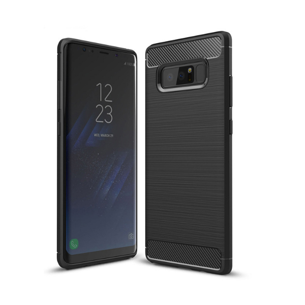 Ốp lưng Dẻo Vân Xước Ngang Chống Sốc Cho Galaxy Note 8