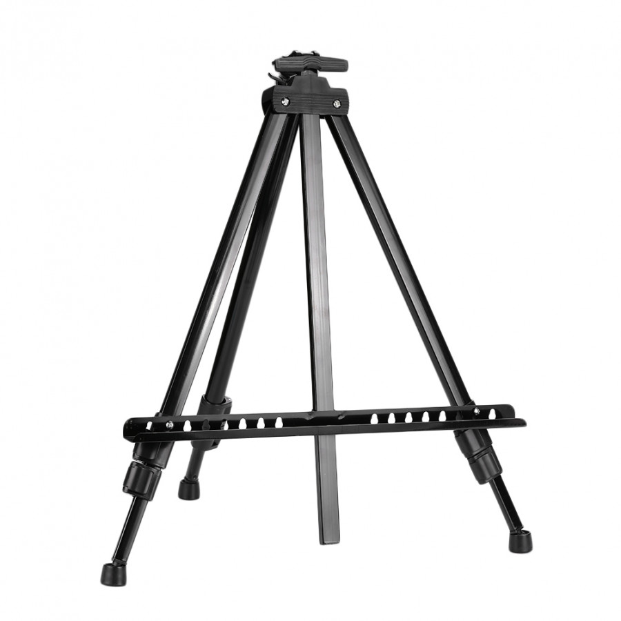 Sketching Easel Tripod Painting Tripod Stand Professional Metal Telescopic Displaying Bracket Hiking