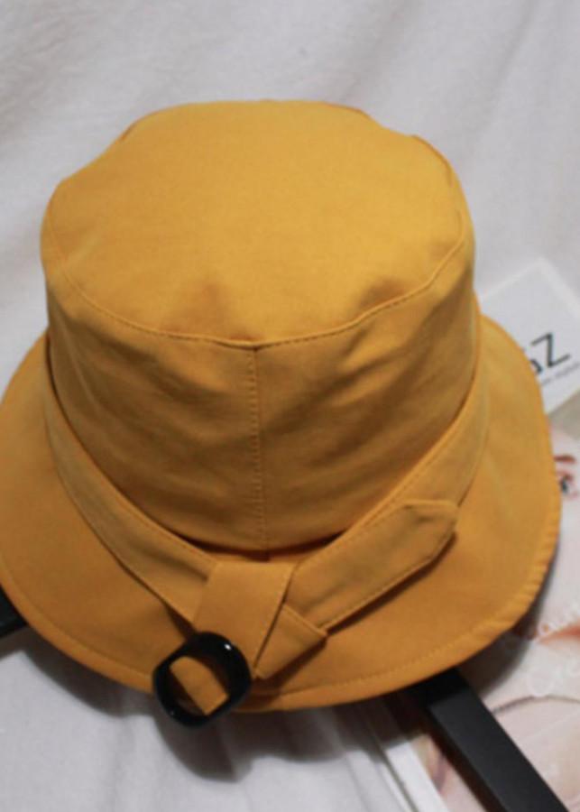 Nón  vải kaki Hàn Quốc màu vàng  nghệ