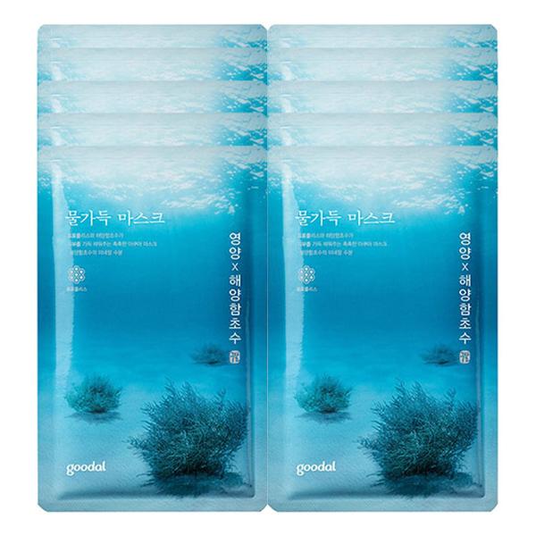 Combo 10 Mặt Nạ Giấy Cung Cấp Dinh Dưỡng Goodal Water Full Mask Nutrion (8ml/ gói) - 1275712 , 5123214583567 , 62_11492712 , 290000 , Combo-10-Mat-Na-Giay-Cung-Cap-Dinh-Duong-Goodal-Water-Full-Mask-Nutrion-8ml-goi-62_11492712 , tiki.vn , Combo 10 Mặt Nạ Giấy Cung Cấp Dinh Dưỡng Goodal Water Full Mask Nutrion (8ml/ gói)