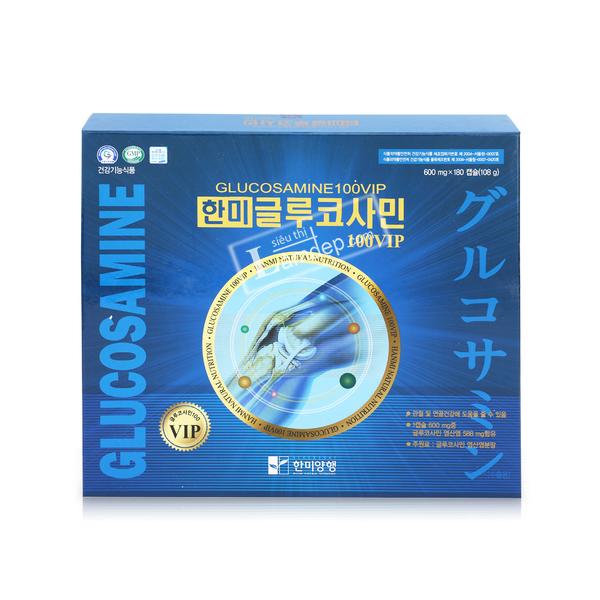 Thực Phẩm Chức Năng Viên Bổ Khớp Glucosamine Vip 180 Viên
