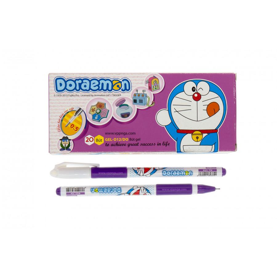 Bút Gel 012 Doraemon (hộp 20 cái )