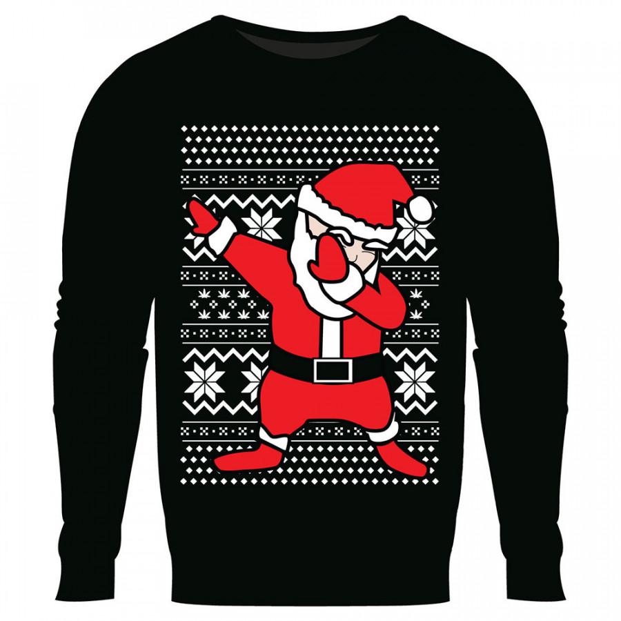 Christmas Fleece Fleece Cartoon Polyester M-4XL To Keep Warm Christmas