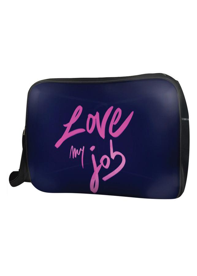 Túi Đeo Chéo Hộp Unisex Love My Job - TCTE154