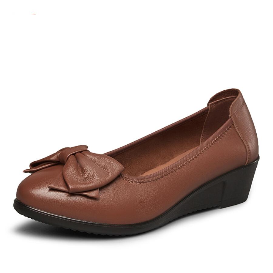 Giày Búp Bê Da Đế Xuồng Yierkang 8282ZA29818W