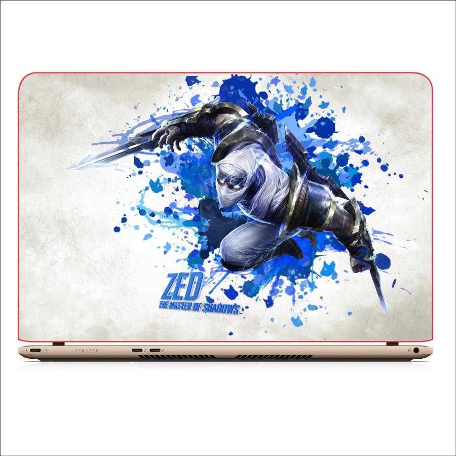 Miếng Dán Skin In Decal Dành Cho Laptop -  Zed LMHT 2