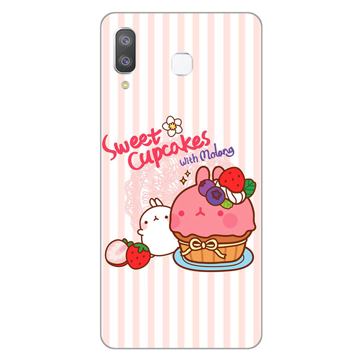 Ốp lưng dành cho điện thoại Samsung Galaxy A7 2018/A750 - A8 STAR - A9 STAR - A50 - Molang 01