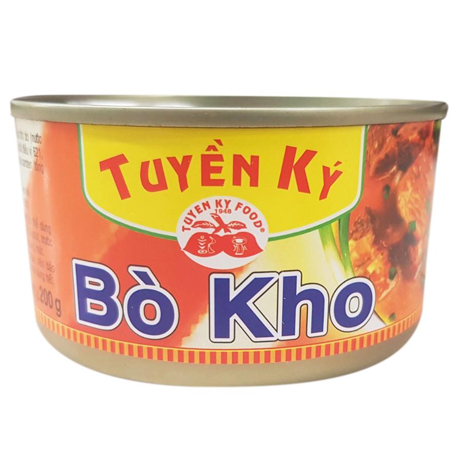 Bò Kho Tuyền Ký - Hộp 200g