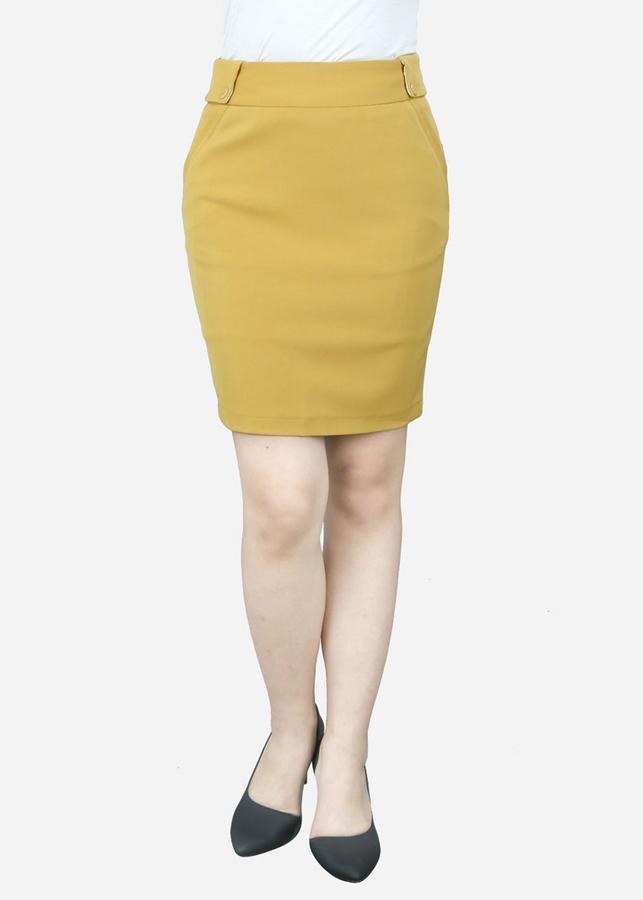 1002027473460 - Chân Váy Nữ VDS1852VA - Vàng