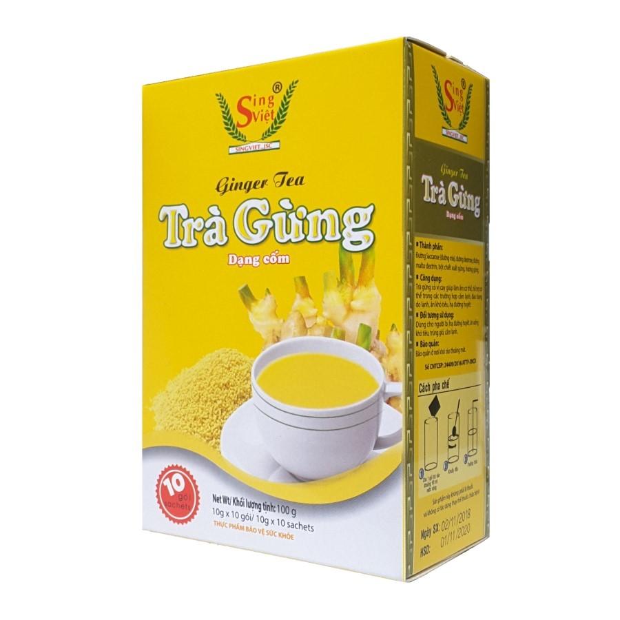 Combo 03 Hộp Trà gừng dạng cốm Sing Việt (100g/hộp) - 6136682 , 5567432541570 , 62_9196293 , 156000 , Combo-03-Hop-Tra-gung-dang-com-Sing-Viet-100g-hop-62_9196293 , tiki.vn , Combo 03 Hộp Trà gừng dạng cốm Sing Việt (100g/hộp)