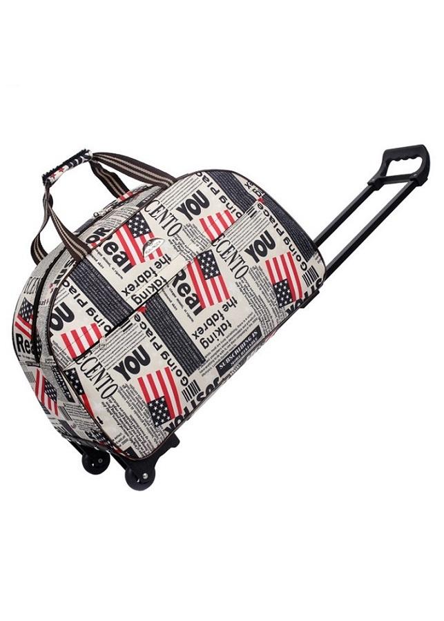 Túi kéo du lịch họa tiết