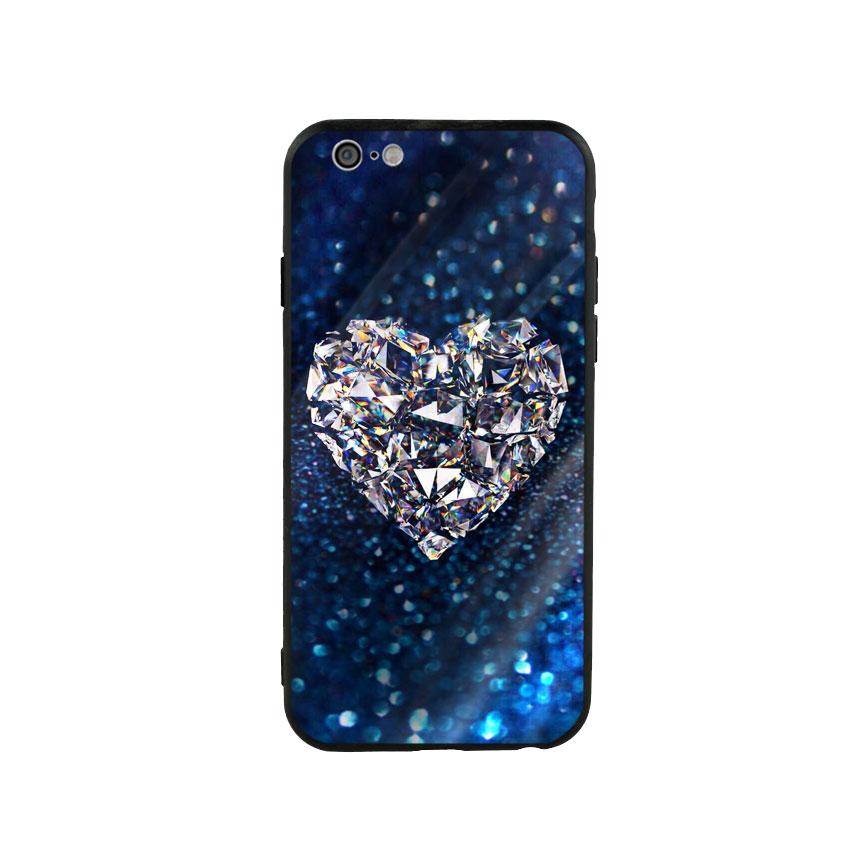 Ốp Lưng Kính Cường Lực cho điện thoại Iphone 6 / 6s - Heart 11